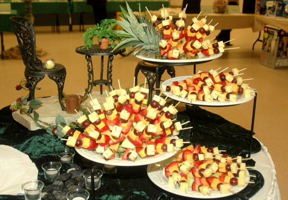 Fresh Fruit And Cheese Skewers Galluccis