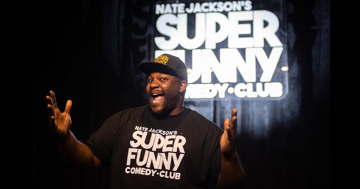 Nate Jackson's Super Funny Comedy Club